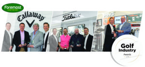 Best-in-class suppliers recognised by Foremost Golf Industry Awards